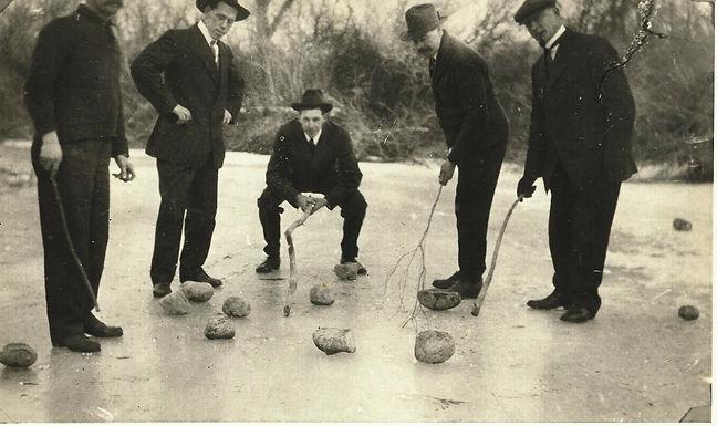 Curling on Frozen Pincher Creek