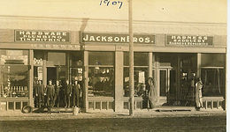 JACKSON BROS.  - RE-ORGANIZATION OF PIONEER HARDWARE FIRM (1946)