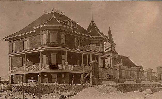 St. Vincent's Hospital, formerly Lebel residence