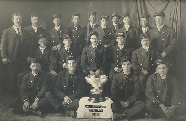 PINCHER CREEK FIRE DEPT 1909
