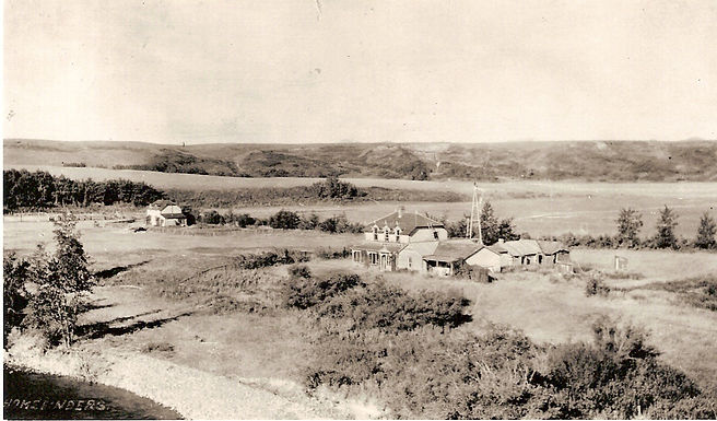 South Fork Ranch buildings, 1909