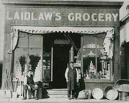 LAIDLAW'S GROCERY, PINCHER CITY