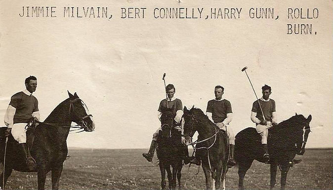 North Fork Polo Team, named in photo