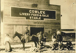 COWLEY LIVERY FEED & SALE STABLE