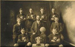 Basketball Championship Team & Trophy