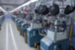 Socks machines, factory