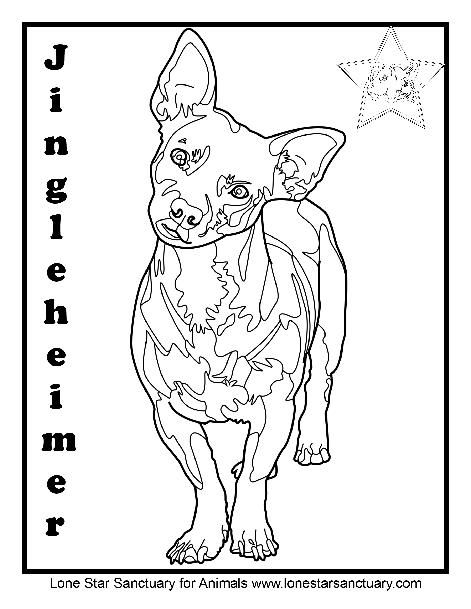 Coloring Pictures | No-kill shelter | United States | Lone ...