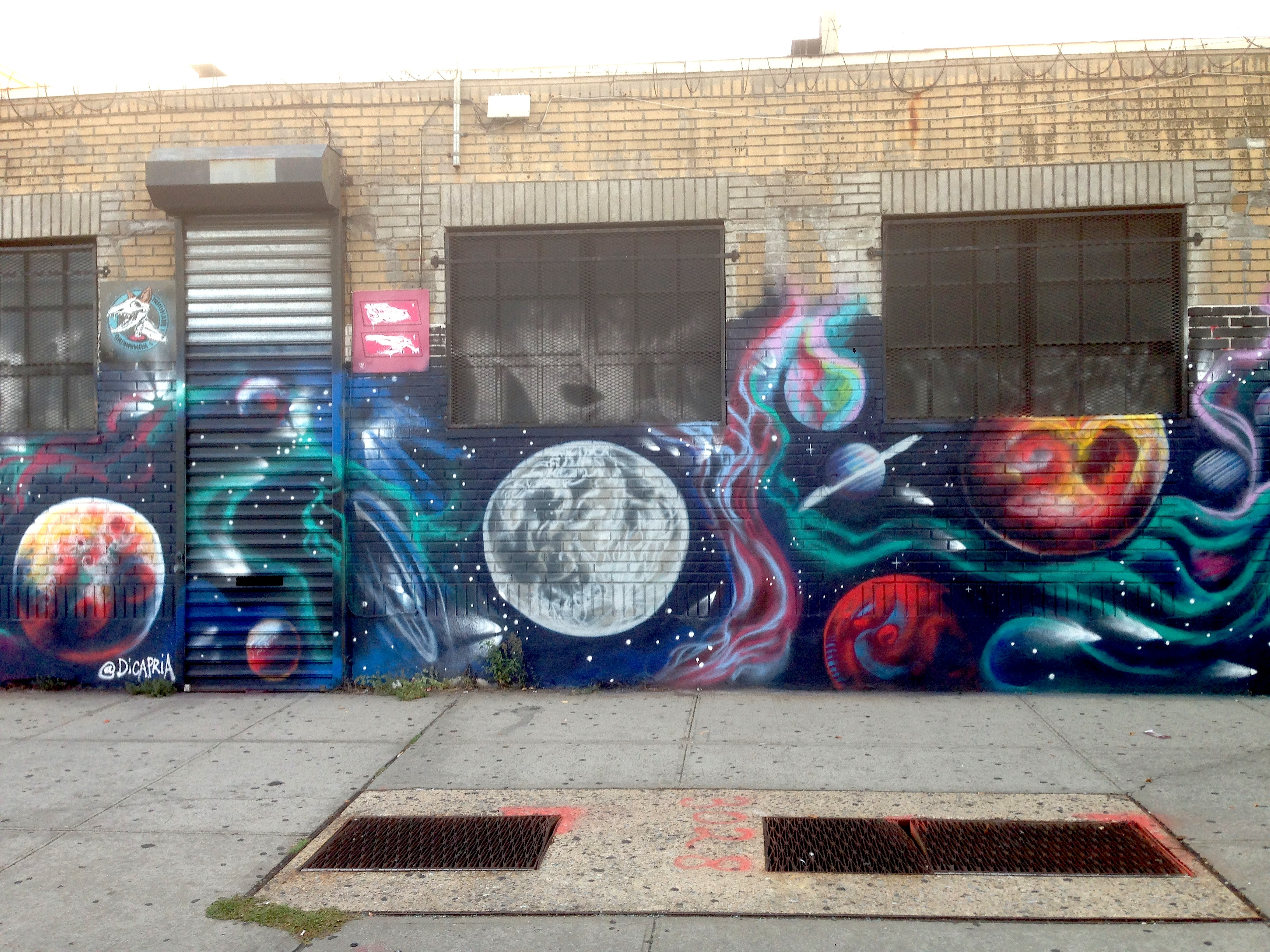 Bushwick Space Wall