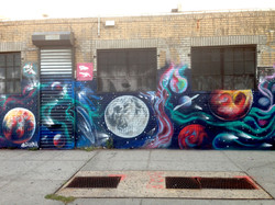 Bushwick Space Wall