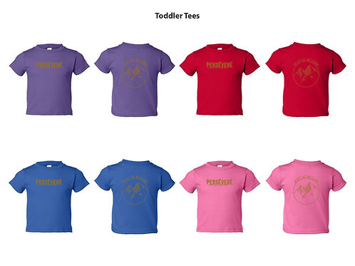 Persevere Infant and Toddler Tees