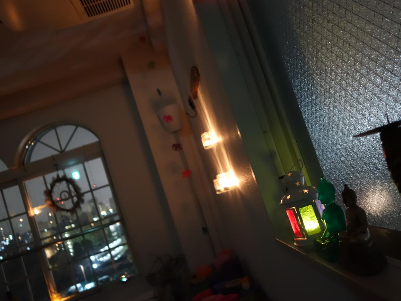 夜のスタジオ風景2