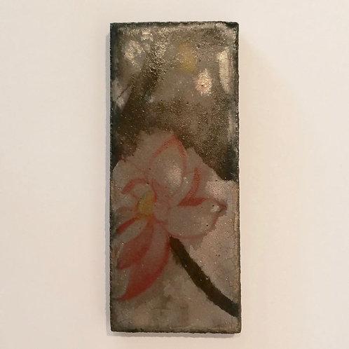 Lotus Flower on Platinum SOLD