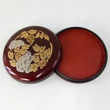 Dark-Red Seal Paste Pad
