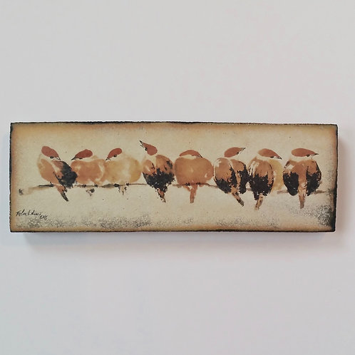 Sparrows on a branch I SOLD