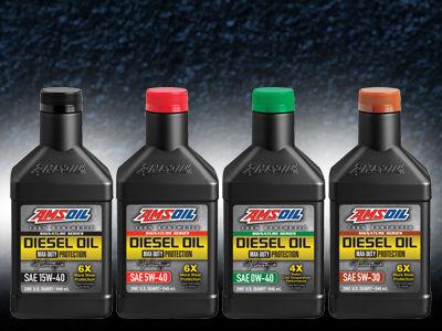 Amsoil diesel oil change