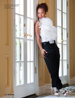 Chili Of TLC Mag Cover Shoot