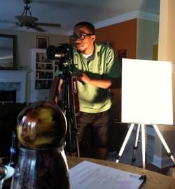 On Film Set