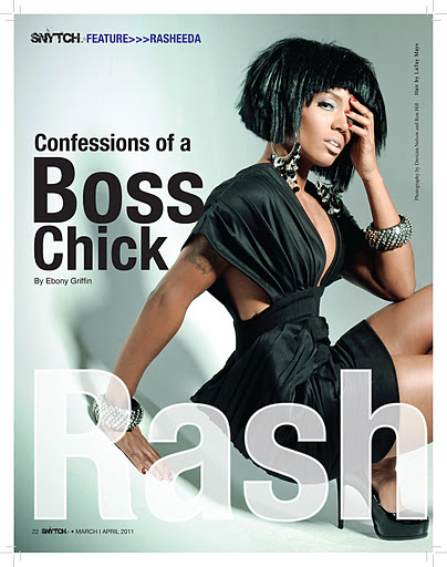 Artist Rashida Mag.Cover Shoot