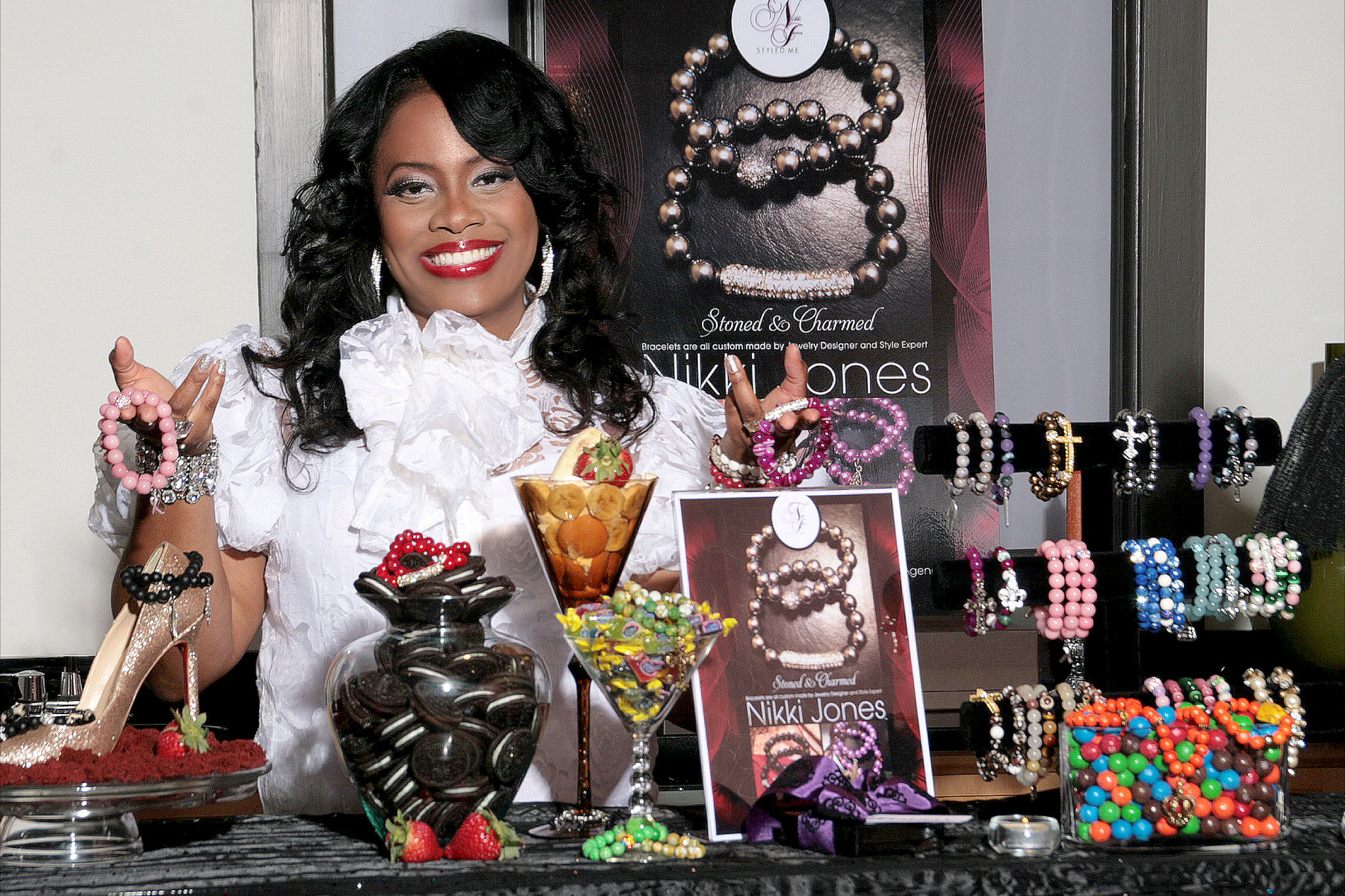 Stoned & Charmed Jewelry Photo Shoot