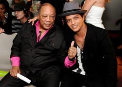 Bruno and Quincy Jones