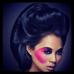 Latay Mays Hair Photo Shoot
