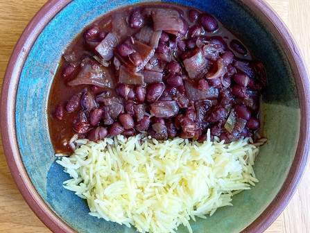 Hubby's Best Black Beans (Instant Pot)