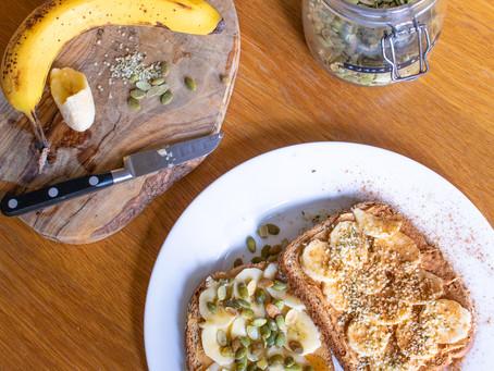Nut Butter Breakfast Toast