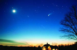 Image of night skies over Spruce Meadows near Broomfield Colorado