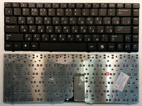 Клавиатура для ноутбука Samsung R517, R518, R519 черная