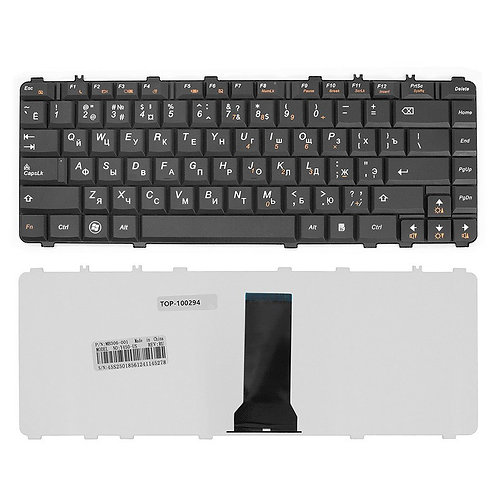 Клавиатура для ноутбука Lenovo Y450, Y550, B460 черная