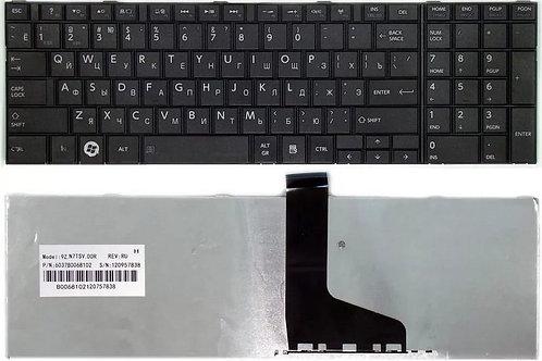 Клавиатура для ноутбука Toshiba C850, L850, P850 черная