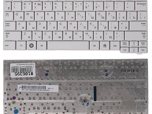 Клавиатура для ноутбука Samsung N140, N150, N102 белая
