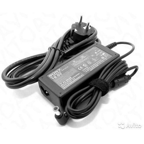 Зарядка для ноутбука Sony 19,5V 3,3A (60W) 6.0x4.4мм с иглой +кабель питания