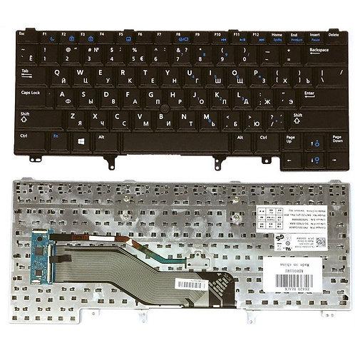 Клавиатура для ноутбука Dell E5420, E6220, E6320 черная со стиком