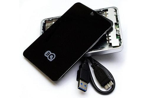 """Внешний Box 2.5"""" 3Q (3QHDD-T210S-B) USB3.0 черный"""