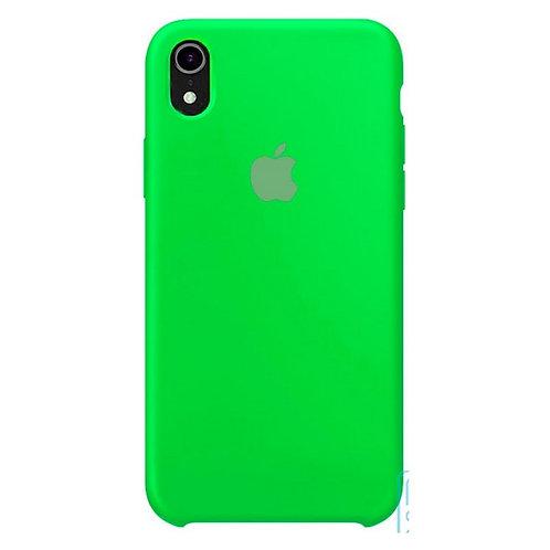 Силиконовый чехол для iPhone X/Xs Max Салатовый