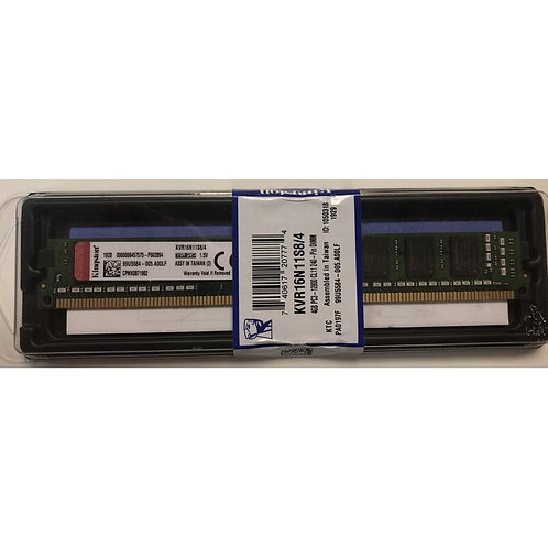 Оперативная память DIMM 4Gb Kingston DDR3 1600