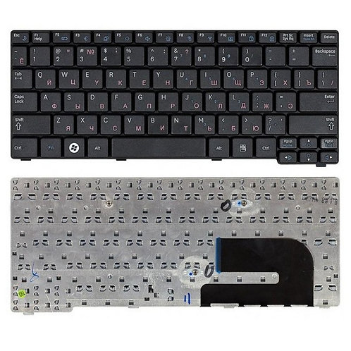 Клавиатура для ноутбука Samsung N102, N128, N140, N148 черная