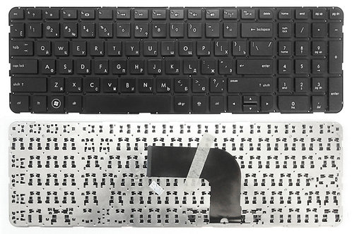 Клавиатура для ноутбука HP Envy dv6-7000 черная без рамки