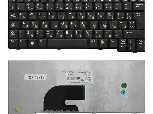 Клавиатура для ноутбука Acer Aspire One 531, A110, D250 черная