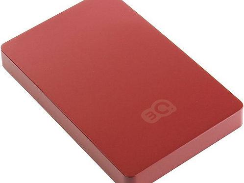 """Внешний Box 2.5"""" 3Q (3QHDD-T292M-RR) USB 3.0 бордовый"""