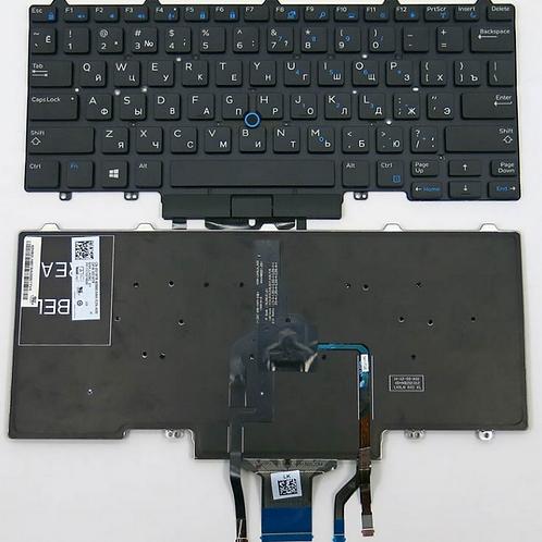 Клавиатура для ноутбука Dell Latitude E5450, E7450, E5470