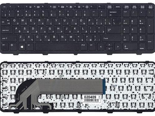 Клавиатура для ноутбука HP 450 G1, 455 G1, 470 G1 черная с рамкой