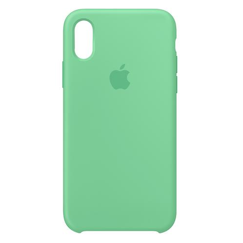 Силиконовый чехол для iPhone X/Xs Мятный