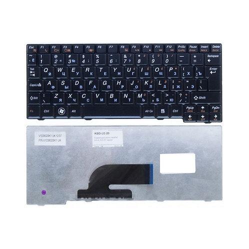 Клавиатура для ноутбука Lenovo S10-2, S10-3C, S11 черная