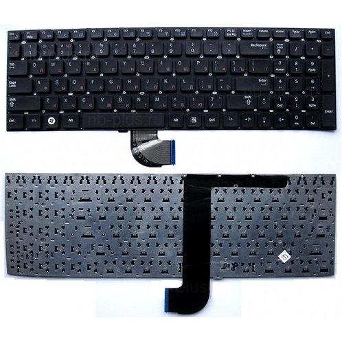 Клавиатура для ноутбука Samsung QX530, RC530 черная тип 1