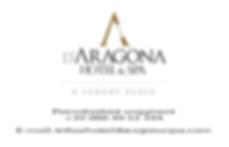 Logo - Hotel D'Aragona + indirizzo copia