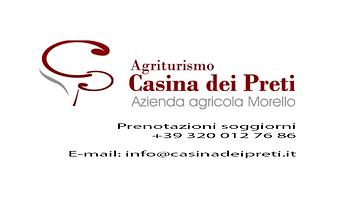 Logo - Casina dei Preti + indirizzo copi