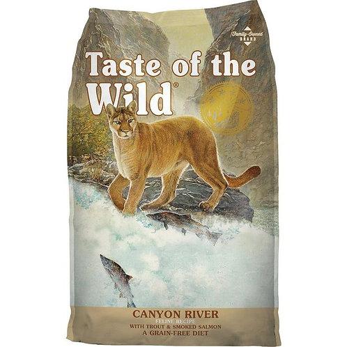 Canyon River Feline (Trucha y salmón ahumado)
