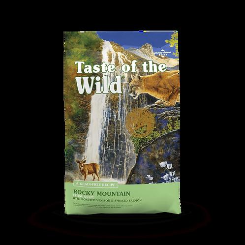 Rocky Mountain Feline (Venado asado y salmón ahumado)